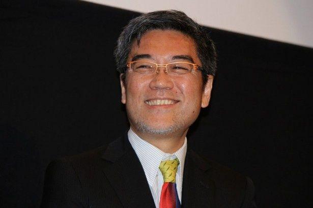 入江が演じたキカイダーについて「ロボットになりきってて瞬きもしないしすごい」と絶賛していた井上伸一郎氏