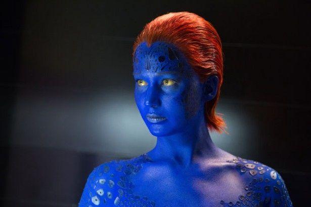 【写真を見る】前作『X-MEN:ファースト・ジェネレーション』に引き続きミスティークを演じたジェニファー・ローレンス