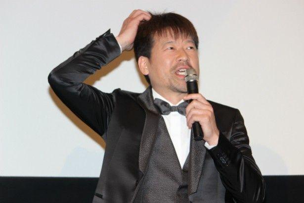 福田組の常連で、チャールズ役の佐藤二朗