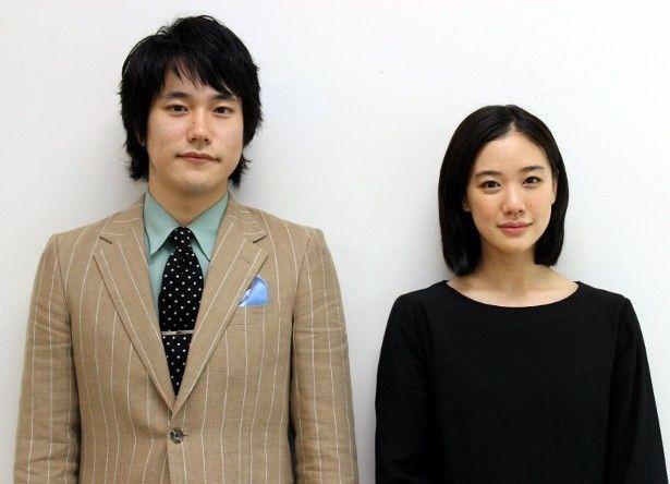 『春を背負って』の松山ケンイチと蒼井優にインタビュー