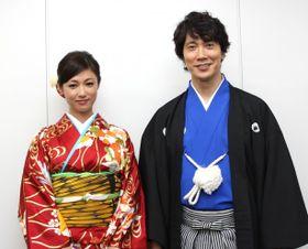 佐々木蔵之介&深田恭子は相思相愛!「会った瞬間にときめいた」