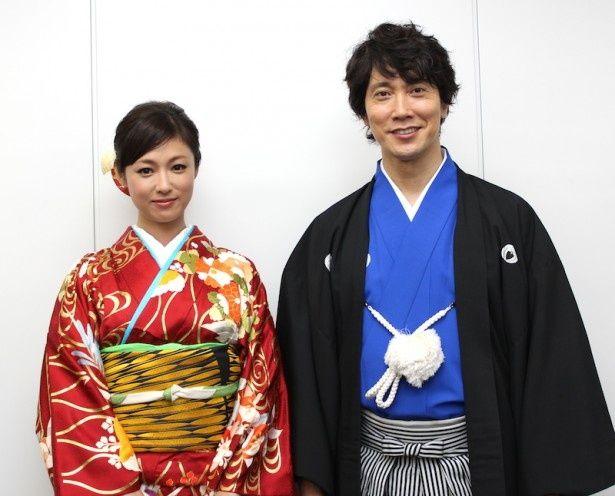 『超高速!参勤交代』佐々木蔵之介と深田恭子にインタビュー!