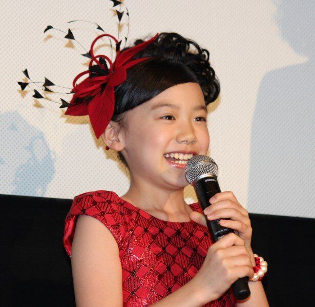 芦田愛菜ちゃんの笑顔に大歓声!