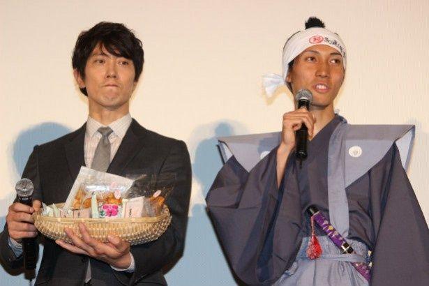 佐々木蔵之介が、参勤交代をしてきた地元の人々に感謝!