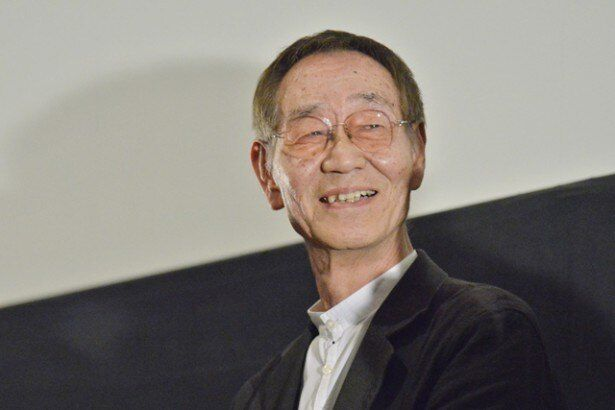 自身が手掛けた「銀河鉄道の夜」「グスコーブドリの伝記」について語る杉井ギサブロー監督