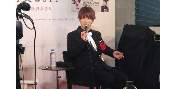 「(作品が)浮いてなくて良かった。(メンバーの)Saoriちゃんには褒められた」とFukase