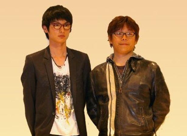 製作発表で登壇した高良健吾と三木孝浩監督