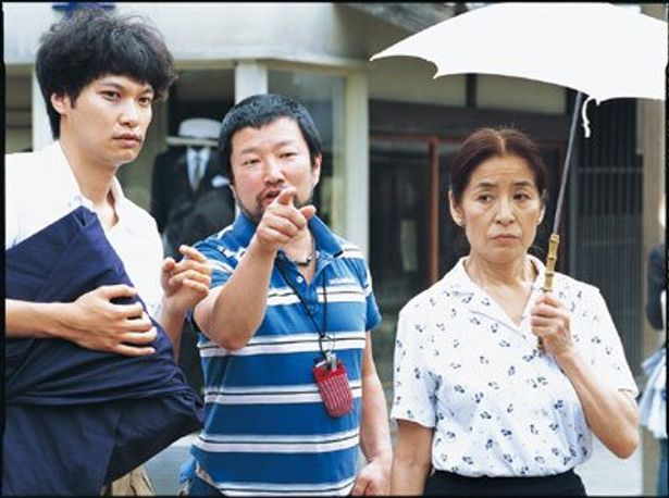 演出中の木村祐一監督