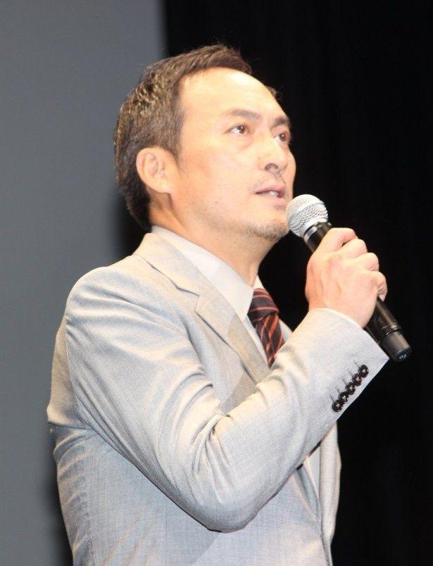 『GODZILLA ゴジラ』のジャパンプレミアに登壇した渡辺謙