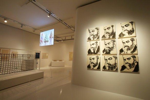 井上雄彦が描いたガウディが展覧会をさらに盛り上げる