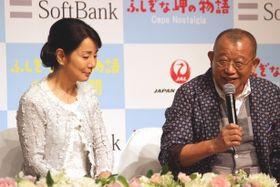 鶴瓶、吉永小百合に手を握られ「ほんまに俺のこと、好きなんちゃうか」とご満悦!