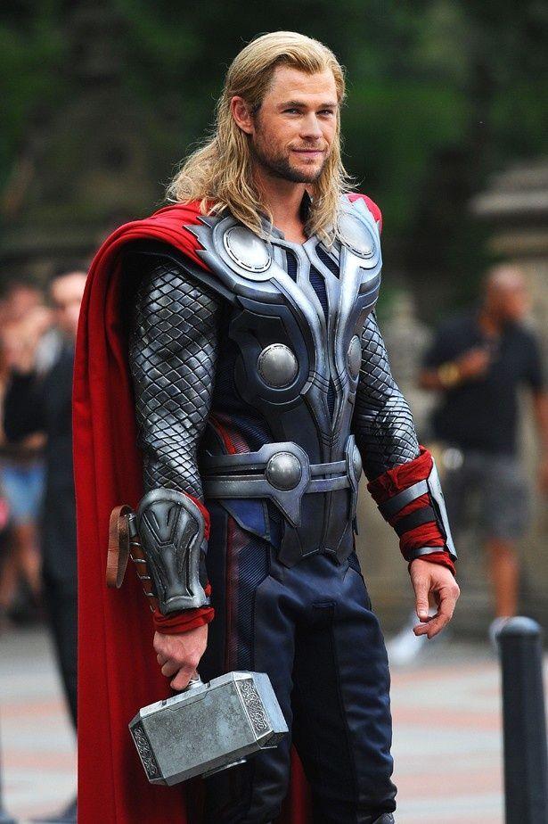 クリス・ヘムズワースが演じたヒーロー、ソー