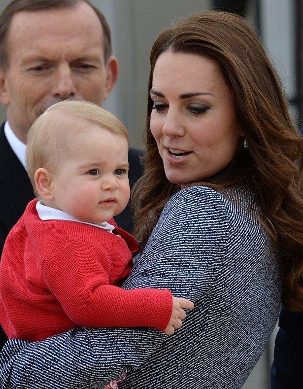 もうすぐ1歳になるジョージ王子