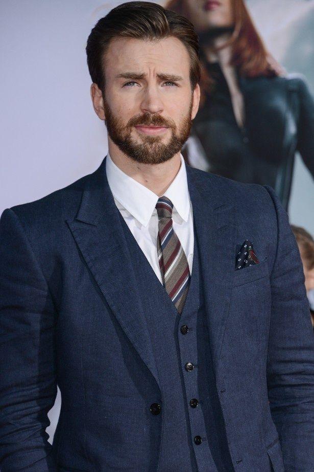 キャプテン・アメリカを演じているクリス・エヴァンス