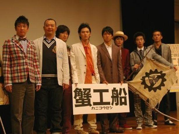 松田龍平、西島秀俊ら個性溢れる俳優陣とSABU監督たち