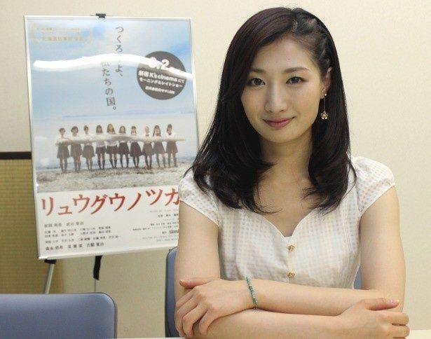 『リュウグウノツカイ』で妊活に励む女子を演じた武田梨奈