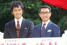 「こんなに仲の悪い人たちはいない」!?中井貴一と阿部寛が若松節朗監督の発言をあわてて否定!