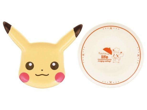 新シリーズ第1弾「Pokemonlife@enjoy eating!」 の陶器の皿(全2種)