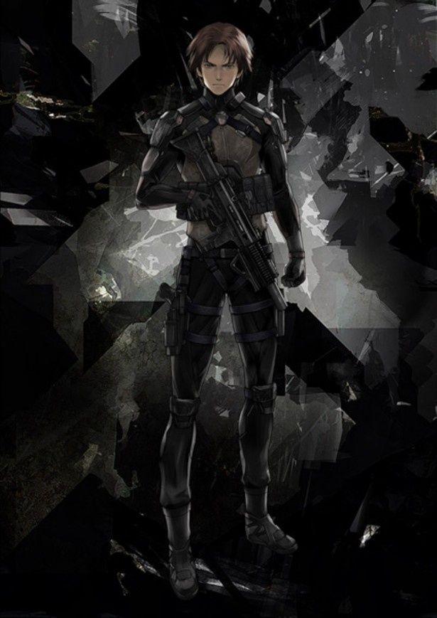 今回、公開された新ビジュアル「虐殺器官」の米軍大尉クラヴィス・シェパード