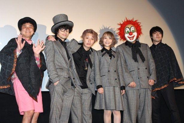 SEKAI NO OWARIが映画の舞台挨拶に登場!会場も大興奮