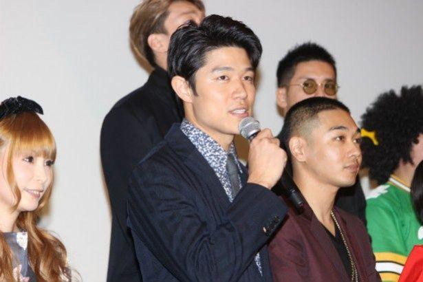 『TOKYO TRIBE』の主演を務めた鈴木亮平