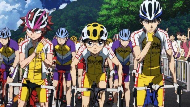 主人公の坂道(写真中央)は1年生ながら、強豪チームのライバルたちに立ち向かう
