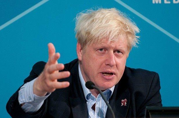 3位はロンドン市長のボリス・ジョンソン