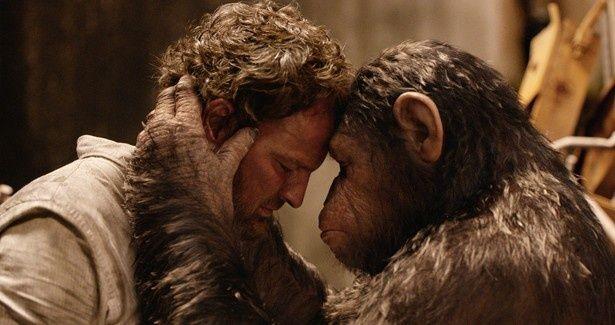 初登場2位にランクインした『猿の惑星 新世紀(ライジング)』