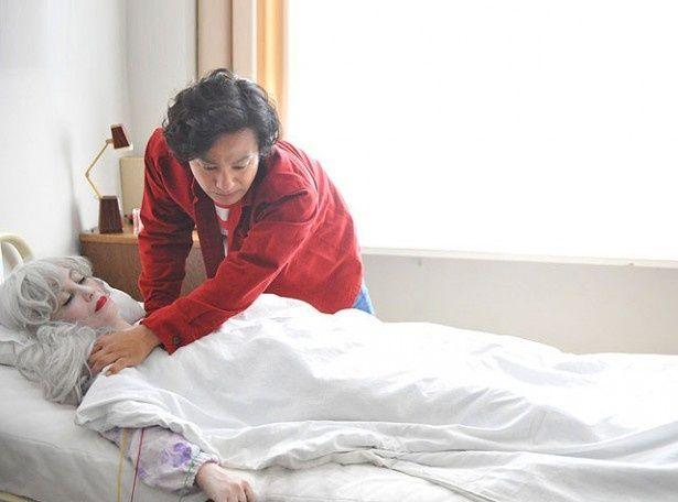 楳図の創作の原点には、亡くなった母・イチエの影響があった