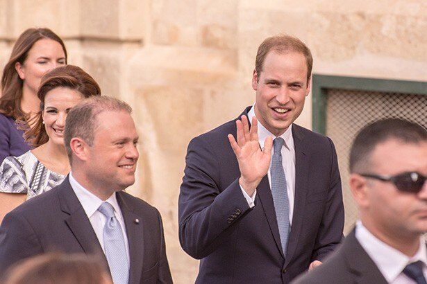 【写真を見る】マルタ島を訪れた時のウィリアム王子