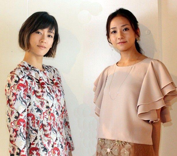 水川あさみと木村文乃にインタビュー!