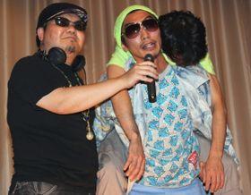 水澤紳吾、泥酔状態でおんぶされたまま舞台挨拶。『SR サイタマノラッパー』チームが再集結!