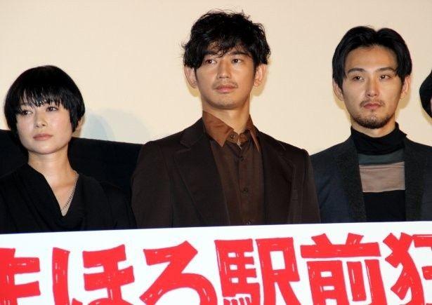 瑛太、松田龍平、真木よう子がキスシーンについてトーク