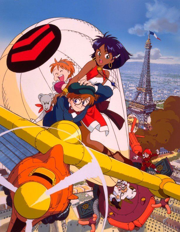 庵野が総監督を務めたTVアニメ「ふしぎの海のナディア」