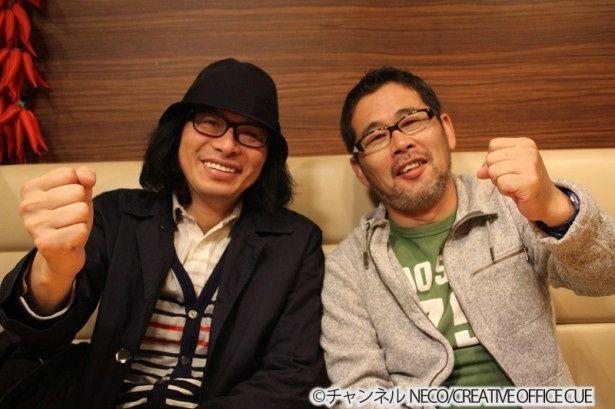 気心の知れた仲の鈴井貴之と藤村忠寿(左から)だからこその爆笑本音トークが繰り広げられる