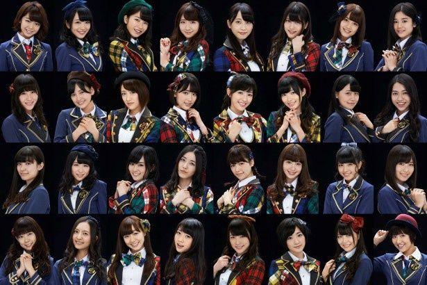 「ベストヒット歌謡祭2014」に出演するAKB48