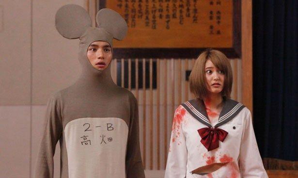 1位にランクインした『神さまの言うとおり』。山崎紘菜がヒロイン役に!