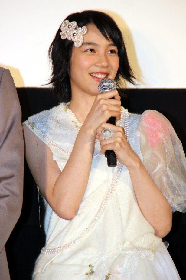 「海月姫」ドレスが似合っていた能年玲奈