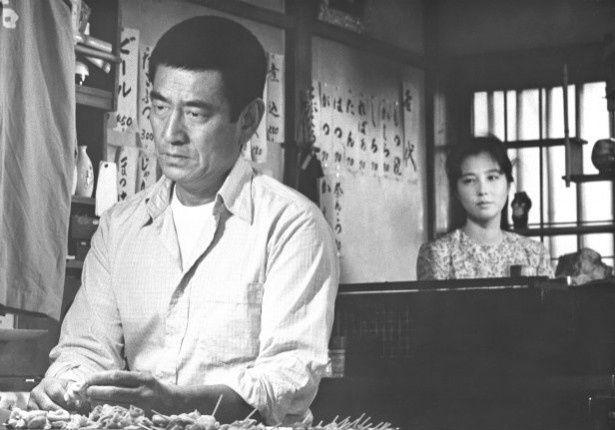 加藤登紀子と夫婦役を演じた『居酒屋兆治』(83)