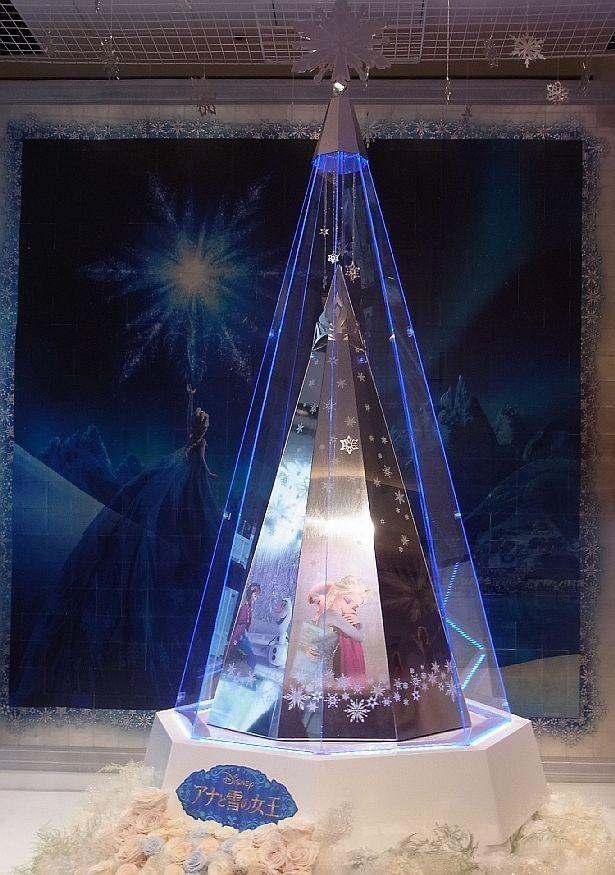 超高額!3億円の「ディズニー プラチナクリスマスツリー ~アナと雪の女王~」