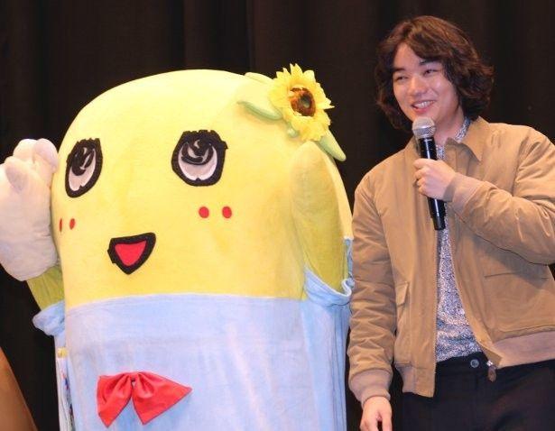 染谷将太、ふなっしーから演技を絶賛される