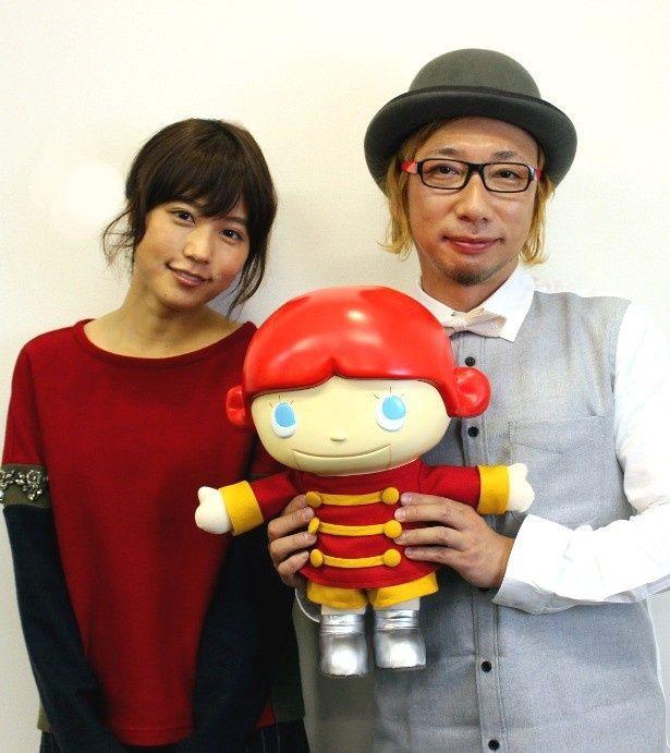 『くるみ割り人形』のアフレコを務めた有村架純と増田セバスチャン監督