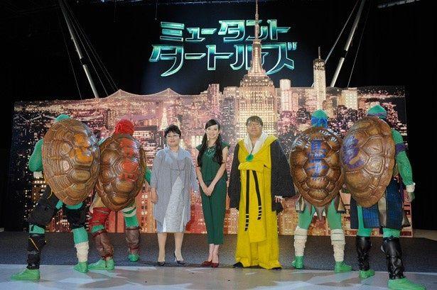 タートルズと泉ピン子、ベッキー、カンニング竹山が公開アフレコに登場!