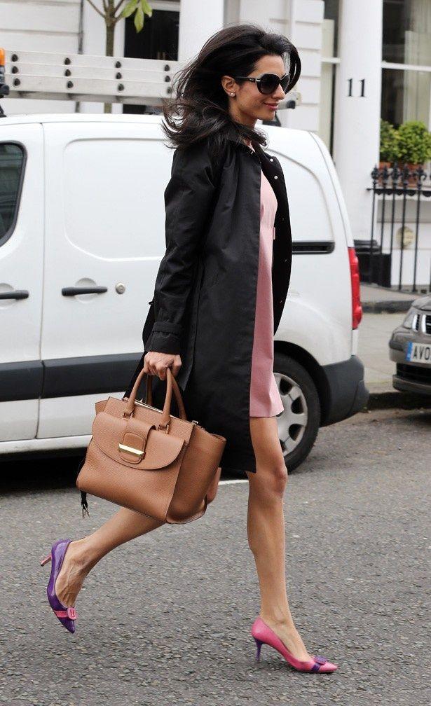 「The Amal」と名付けられたバリンのバッグ