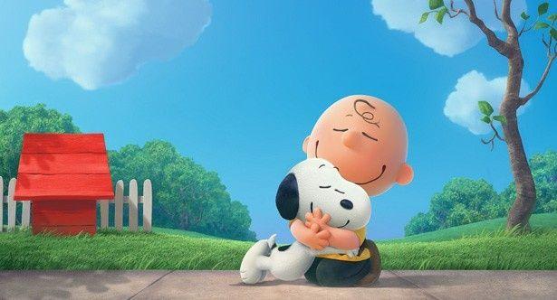 CGになったスヌーピーとチャーリー・ブラウンも可愛い!