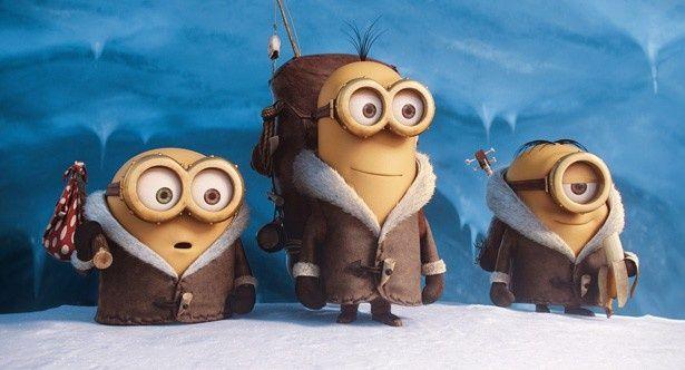 左からボブ、ケビン、スチュアート。彼らが主役!?