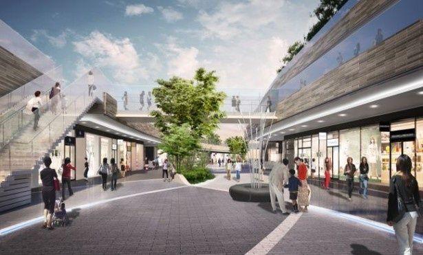 新たな商業施設、二子玉川ライズ・ショッピングセンター・テラスマーケットがオープン!日本初上陸や新業態の店舗を含む全18店舗が出店する