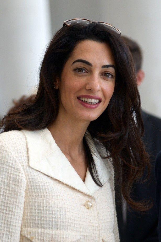 ジョージ・クルーニーの妻で弁護士のアマルが、2014年最も魅力を感じた人物に選ばれる