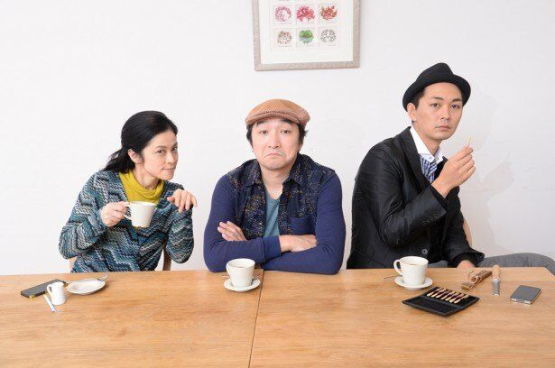 撮影の合間も表情豊かな濱田(写真左)や池田(写真中央)の話でクールに笑う小林(写真右)など、和やかな現場の雰囲気が番組からも感じられそう