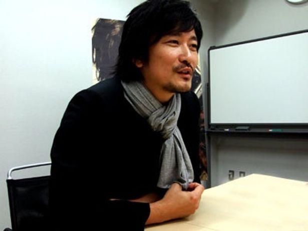 『GOEMON』をアピールする紀里谷和明監督